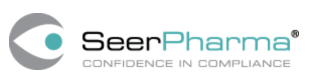 SeerPharma logo: confidence in compliance