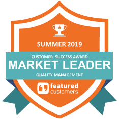 Customer Success Award for Quality Management (QMS)